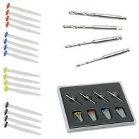 1 Box Dental Fiber Set 4 Drills & 20 pcs Fiber Post Dentist Product New