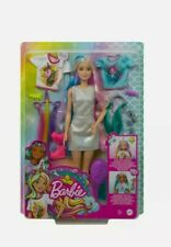 Mattel Barbie Fantasy Hair Doll with Mermaid & Unicorn Looks (GHN04)