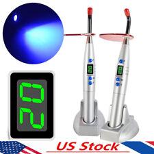 Us Dental Light Cure Unit Wireless 5w Led Curing Light Lamp 1500mw Charging Base