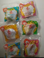 Vintage 1998 McDonald's Haunted Halloween Happy Meal toys NIP Full Piece 6 Set