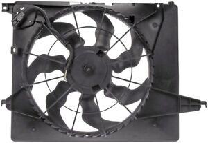 FITS 2013-2015 HYUNDAI SANTA FE 2.4L 2013 3.3L RADIATOR COOLING FAN ASSEMBLY