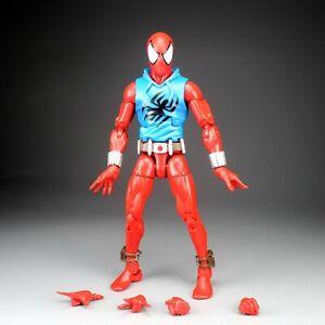 "Marvel Legends Infinite Series Scarlet Spiderman 6"" Loose Action Figure"