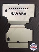 Navara D40 (05-15) Spanish/Thai ST St-X RX - 3mm 2pce Mild Steel Bash Plate Set