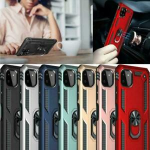 For Samsung Galaxy A22 5G Case, Shockproof Ring Armor Stand TOUGH Phone Cover