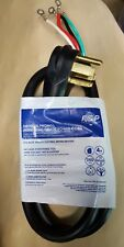 Whirlpool Pt400L 4 Foot 4 Wire 30 Amp 250 Volt Dryer Power Cord New