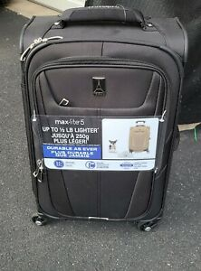 """Travelpro Maxlite 5 21"""" Expandable Softside Luggage - Black"""