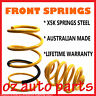 """""""LOW"""" 30mm FRONT LOWERED COIL SPRINGS FOR DATSUN 200B 1977-1981"""