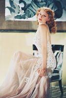 Rita Hayworth lace dress 11x17 Mini Poster