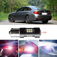 2Pcs Error Free LED Reversing 1156 Back-Up Reverse Light Bulbs For BMW 4 Series
