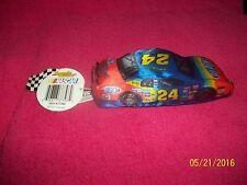 """NASCAR SPEEDIE BEANIE CAR # 24 DUPONT JEFF GORDAN 5 1/4""""  NEW WITH TAG"""