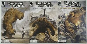 Breath of Bones: A Tale of the Golem #1-3 VF/NM complete series - steve niles 2