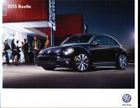2015 VW Volkswagen Beetle 20-page Original Car Sales Brochure Catalog
