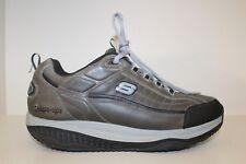 Skechers Mens Sketchers Grey/Black Shape Ups Walking Sneaker Shoes Sz 13 / 47.5