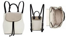 DKNY Womens Lex Leather Backpack (white S)