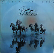 "Vinyle 33T Bob Seger & the Silver Bullet Band  ""Against the wind"""