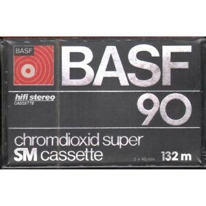BASF Chromdioxid Super 90 - 132 m SM Cassette Sigillata