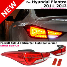 For Hyundai Elantra Sedan 2011-2013 LED Rear Tail Lights Brake Lamps Assembly