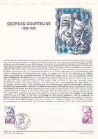 Document Philatélique Timbre  1er Jour : 23/06/ 1979 - Georges Courteline