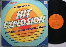 Rock Lp Various Artists Hit Explosion On Ronco