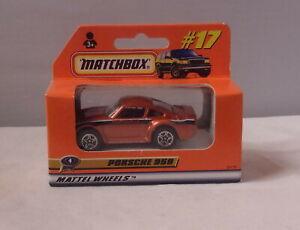 MJ7 Matchbox - 1999 ROW 1-75 -  MB17 Porsche 959 - Copper