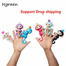 Monkey Electronic Finger Monkeys Colorful Fingers Smart Glow Sound Toys Baby Kid