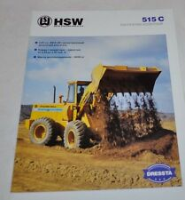 Huta Stalowa Wola Dressta 515C Loader Brochure Prospekt