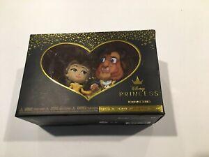 Dinsey Princess BEAUTY & THE BEAST Vinyl Figures Romance Series BN