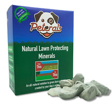 Peterals - Natural Mineral Rocks To Prevent Grass Burn Patches From Dog Urine