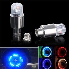 2x Bike Car Motorcycle Wheel Tire Tyre Valve Cap Spoke Neon LED Flash Light Lamp