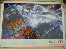 Large Coloured Poster Ford F1 by HSBC Banking Corp
