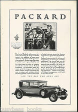 1929 Packard Motor Car Company advertisement, large PACKARD sedan