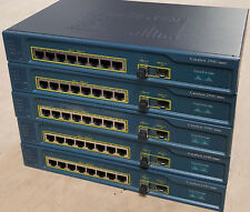 Cisco WS-C2940-8TF-S 8-Port 10/100 Managed Ethernet Switch w Power Cord FST SHIP