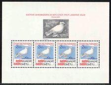 Tschechoslowakei - Mi-Nr. 2720 Block 54 F ** VÖGEL, TAUBEN, FRIEDENSTAUBEN, 60-€