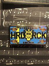 Hard Rock Cafe Stockholm License Plate