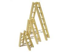 1:12 Leiter, Holzleiter Treppenleiter aus Naturholz 7cm Preis pro Stück! FL0096
