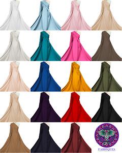 Jersey Stretch Fabric Ponte Roma 4 Way Stretch Dressmaking Material