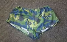 Sexy Camouflage Camo Hot Pant Shorts Army Fancy Dress
