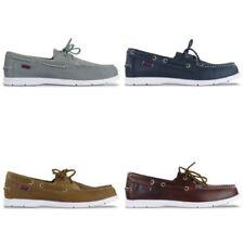Zapatos informales de hombre náuticos marrones Sebago