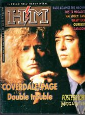 H/M N°148/1993 COVERDALE/PAGE RAGE AGAINST THE MACHINE CATACOMB QUIREBOYS