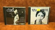 NINA SIMONE (2) CD Lot ~ Live! & The Best Of The Colpix Years~ FREE SHIPPING