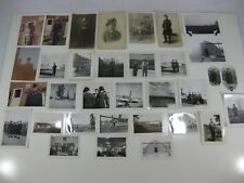 Vintage Canadian Military Photographs Portraits Snapshots lot of 33