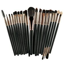 20 pennelli professionali per Make Up eyes brush set kit completo trucco