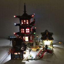 LED Light Kits For Ninjago Temple of Airjitzu Building Blocks - Lego 70751
