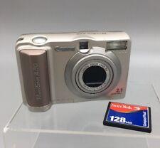 Canon PowerShot A20 2.0MP Digital Camera 128 MB San Disk Fast Ship  D1