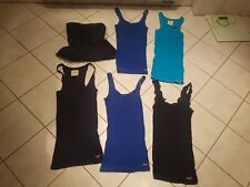 5 x Hollister by Abercrombie and Fitch TOPs  ~ Gr. 34 / 36 XS / S ~ Blau ~NEUw
