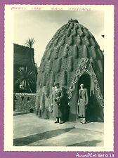 PHOTO EXPOSITION UNIVERSELLE PARIS 1937, CASE AFRICAINE, VINTAGE  -G18