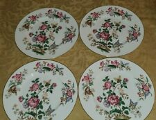 Wedgwood Charnwood Bone China Floral 4 Dinner Plates 10 3/4""