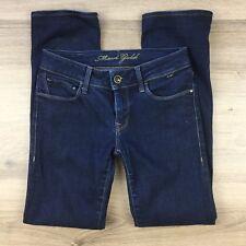 Mavi Gold Women's Jeans Olivia Stretch Straight Leg Size 27 L28.5 hemmed (BH5)