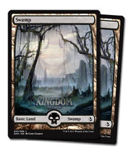 2x Swamp (Version 1) - Full Art - Amonkhet - NM - English - MTG