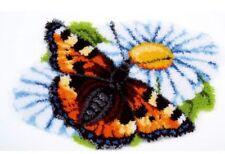 "Vervaco Knüpfformteppichpackung  "" Schmetterling ""  PN-0154242"